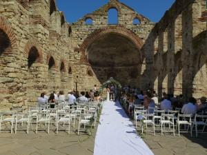 Изнесен ритуал в Несебър, Митрополията, Wedding ceremony Nesebar